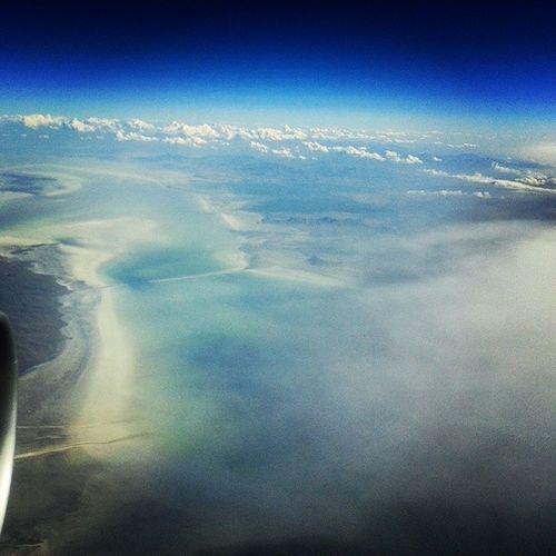 Flying on Arallake