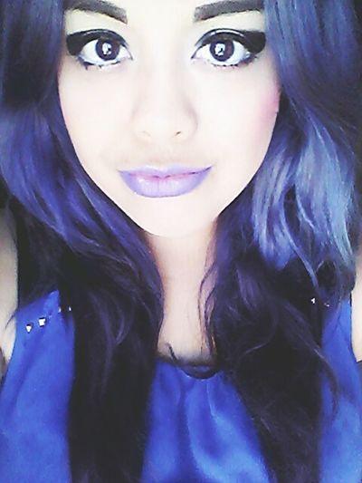 Hairpurple Love Eyes Gorgeous