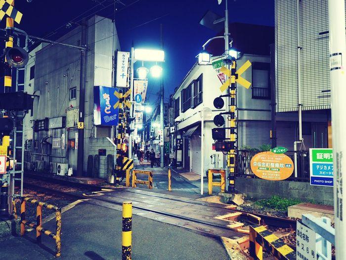 東京なのに単線 踏切 金町駅