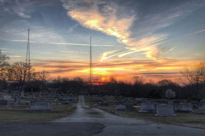 Sunrise over the old cemetery in Douglasville this morning. EyeEm Best Shots - Sunsets + Sunrise Sunrise EyeEm Best Shots - HDR Sunrise And Clouds