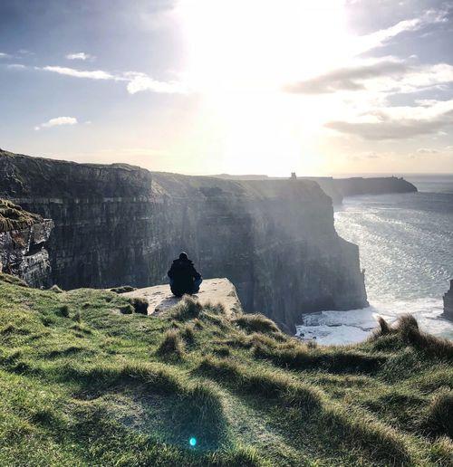 Cliffs Sky