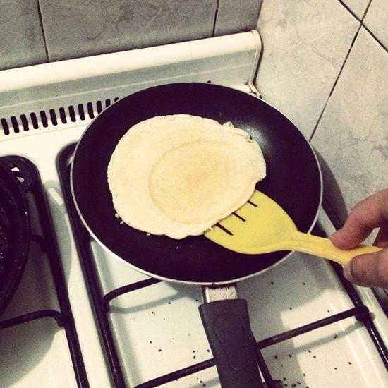 panquequessss Morsa Comer Rico Panqueques cocinando quierocomer