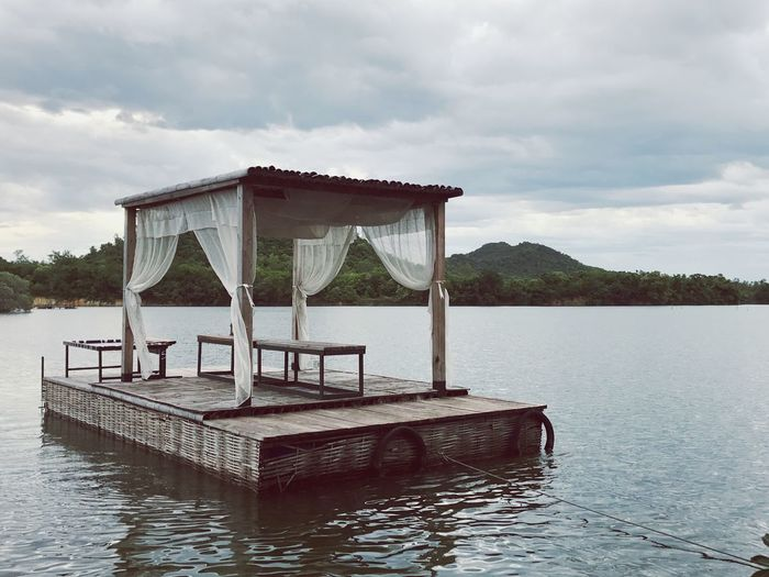 Idyllic lake in thailand