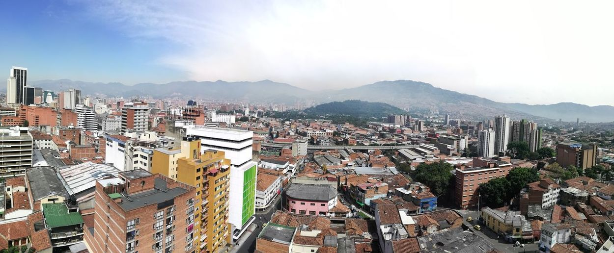 Medellín EyeEmNewHere Cityscape City Mountain Sky