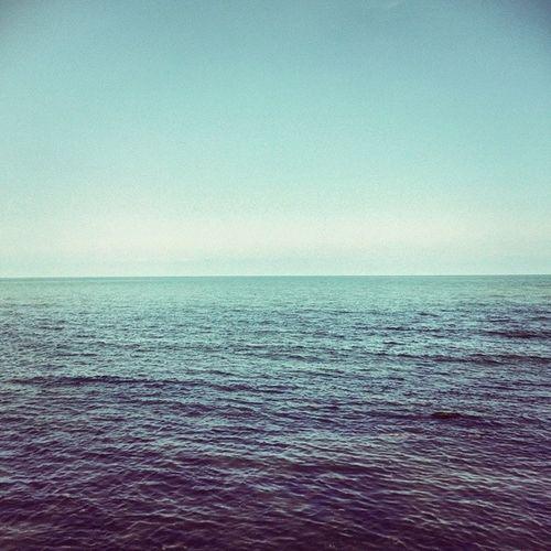 Sea Sky Horizon Water Blue Iran Anzali Caspian دریا آسمان افق ایران انزلی