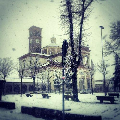Church Snowchurch Winter Beautiful Lovewinter Atmosphere Snow