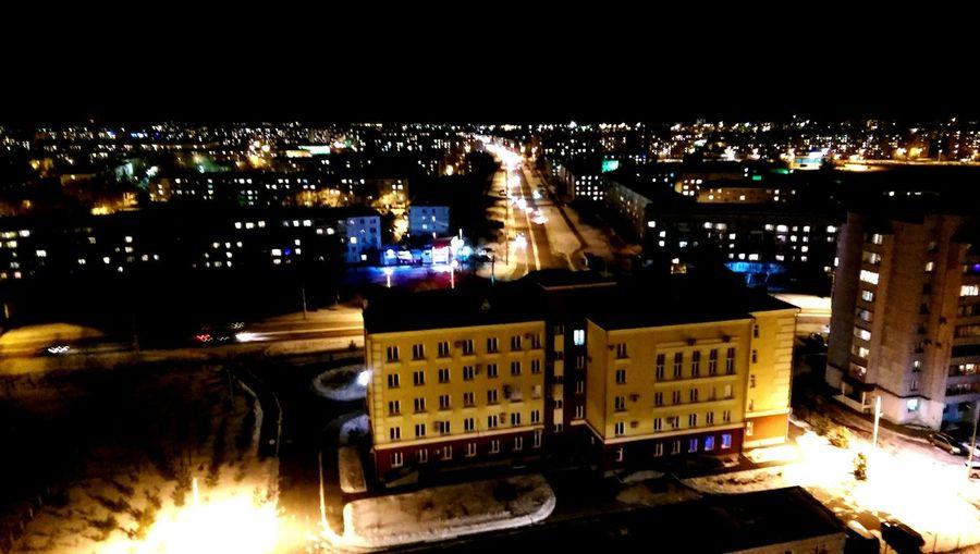 Night Lights Urban City Lights