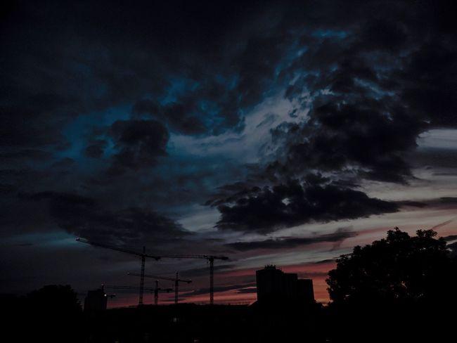 Beauty In Nature Cloud - Sky Not Bad Frankfurt Am Main IPhone 7 Plus Photography