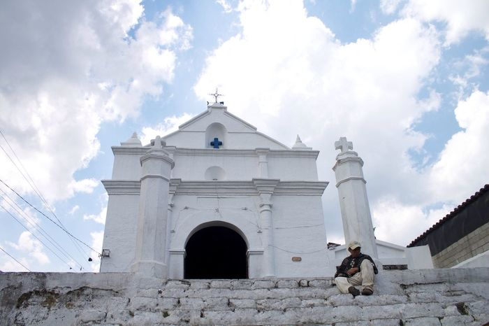 Chichicaztenango. Guatemala Architecture Religion church