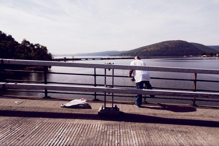 Fishing on the Hudson. Photography New York Bear Mountain State Park Hudson River Hudson Valley Upstate New York