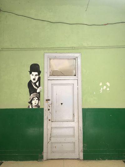 Cuba Colorful Door Green Color Day No People