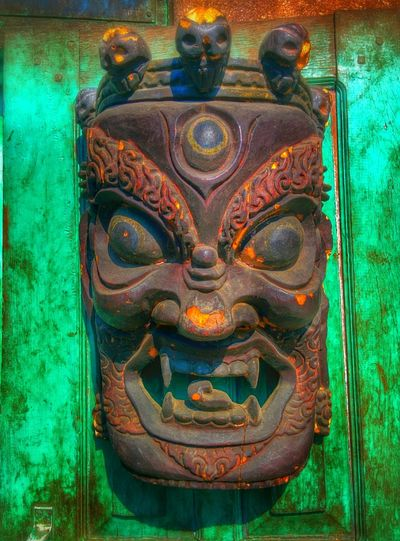 God Evil Eye Protection Traveling Nepal Creativity Art ArtWork Artistic Artphotography Artphoto Sculpture Sculptures CreativePhotographer Ceative Colors Of Life