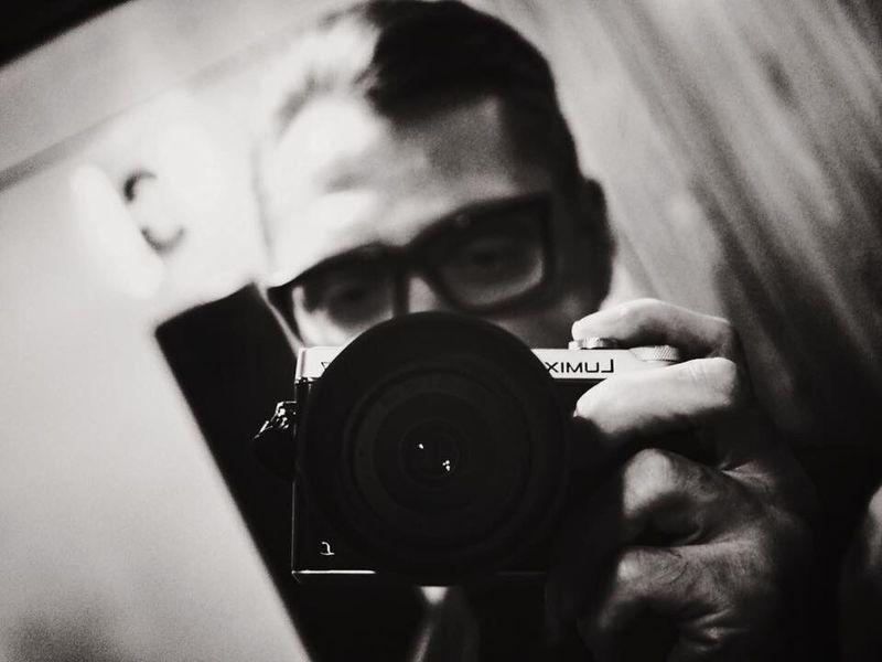 Selfi Portrait WarsawCity Panasonicgx7 Weedtime B&w Street Photography Portrait