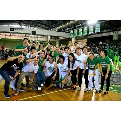 Uaap77 Animorally Animorally2014 Animo dlsu greenarchers sports sendoff themanansala