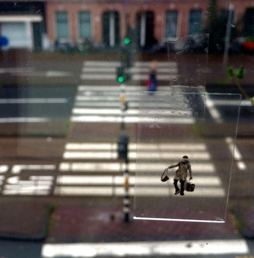 Between Reflection Window Crossing Street Reality Fantasy Sharing  Space Moment Zebra Crossing Road City Walking High Angle View Mode Of Transport On The Move Rain Building Exterior Transportation Road Marking Season  City Life Men Architecture Blurred Motion Built Structure Crosswalk Focus On Foreground Land Vehicle