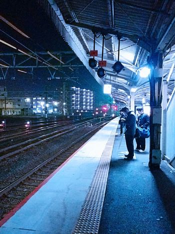 帰ります。🐸👋 Railway Station Train Station Go Home