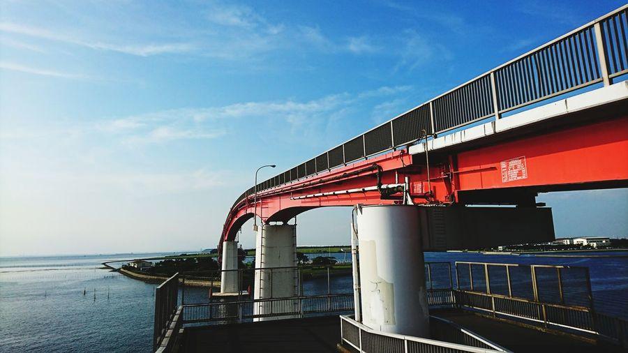 Sea No People Kisarazu Nakanoshimapark Japan 中の島大橋
