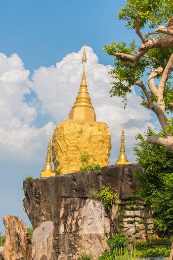 Architecture Landscape Pagoda Place Of Worship Religion Sakonnakhon SakonNakhon ,Thailand Spirituality Statue Temple Temple In Thailand Tourism Travel Travel