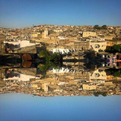 Bonjour Fes Fes Morocco Dnescestujem Krásnych26stupnov Crazyplace Beautufulwiew Onlyinmorroco