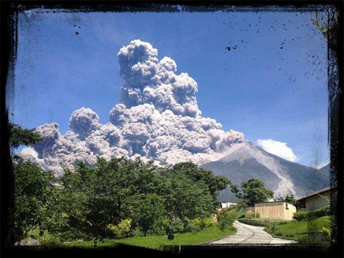 Volcán de fuego 13 de septiembre 2012.