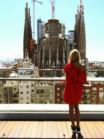 Missyou Missingsummer Dreamplace Missing Sagradafamilia Lastpicture SagradadeFamilia Sagradafamiliabarcelona Ayre Hotel Beautifuldays Amazing View Girlintheworld Bigdreams Barcelona SPAIN Women Who Inspire You Blondgirl Reddress Hello World Taking Photos That's Me My Favorite Place Eye4photography  Fine Art Photography From My Point Of View