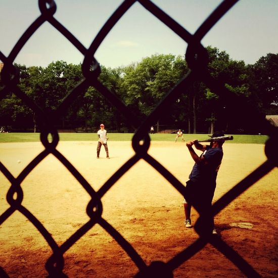 Baseball New York City Central Park