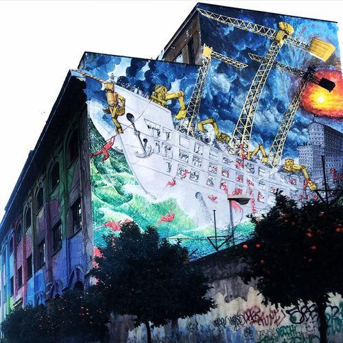 Testaccio Discover Your City Roma Underground Street Art