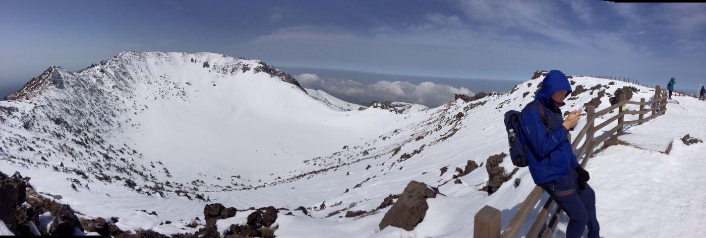 한라산  등산Hiking Camping 백록담