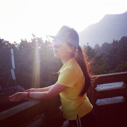 南岳 衡山 日落