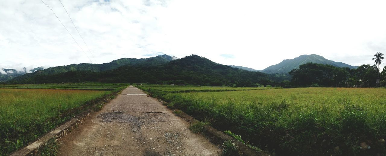 Visiting the countryside. Mountains Countryside Nature Philippines Tabuk