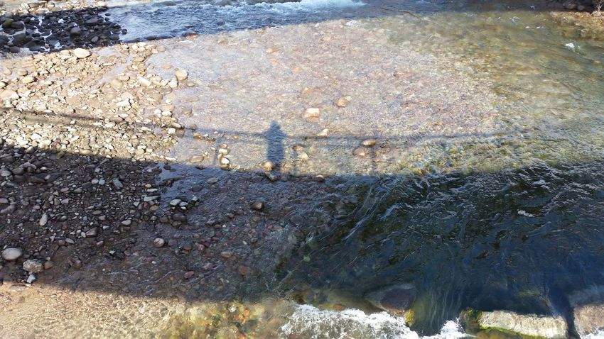 Bolzano - Bozen Nature Water Shadow Of Me River Stones Day