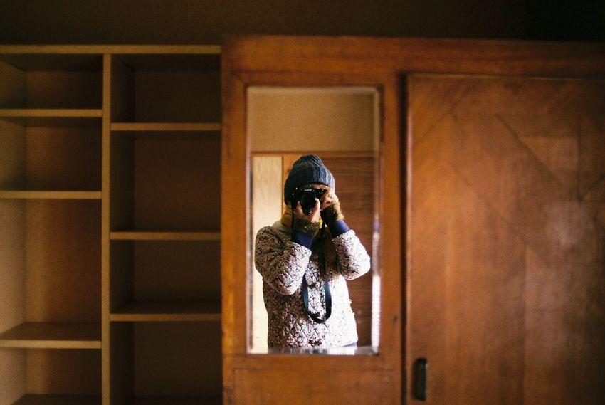 Photo Photography Photooftheday Film Film Photography Filmisnotdead Interior Mirror Self Portrait Selfportrait Selfies Room Winter Travel Traveling EyeEmBestPics EyeEm Best Edits EyeEm Best Shots Japan