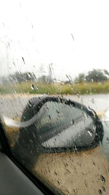 Car Transportation Mode Of Transport Transparent Drop Rain Vehicle Interior Water Rainy Season No People Indoors  The Drive. The Drive
