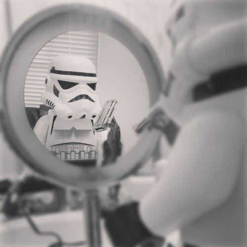 Close shave. Stormtrooper Stormtrooping Starwars Imboredtoday