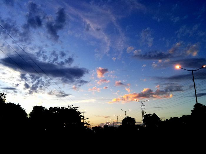 Av. Perimetral, Ciudad Bolivar Suburban Landscape Sky And Clouds Sunset And Clouds