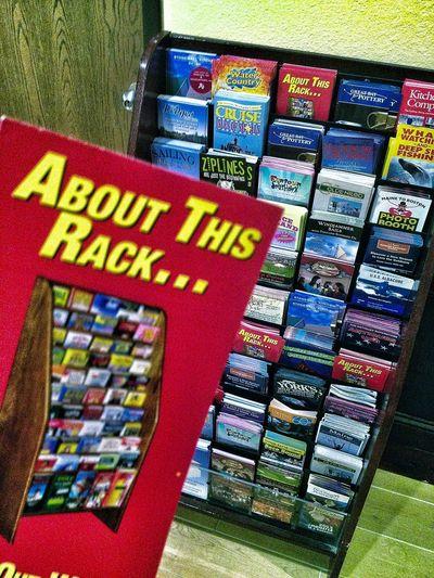 Racks Traveling Tourist Flyers