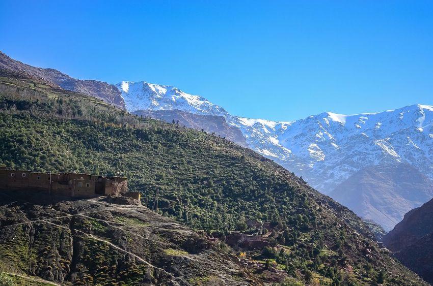 Imlil Toubkal Mountains Mount Toubkal Sommet De Toubkal Marrakech Maroc Morroco