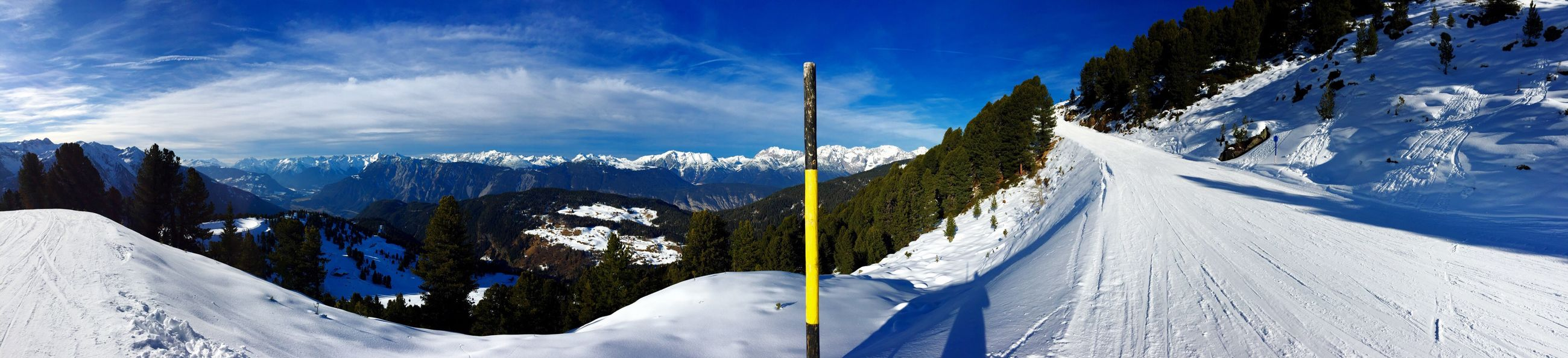 snow, cold temperature, winter, mountain, season, tranquil scene, tranquility, landscape, sky, snowcapped mountain, beauty in nature, the way forward, scenics, blue, mountain range, nature, weather, covering, white color, road