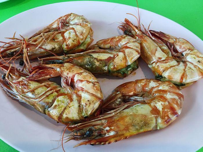 Enjoying Life Seafoods Thaifood Relaxing Taking Photos Delicious Food Yummy Tiger King Prawn
