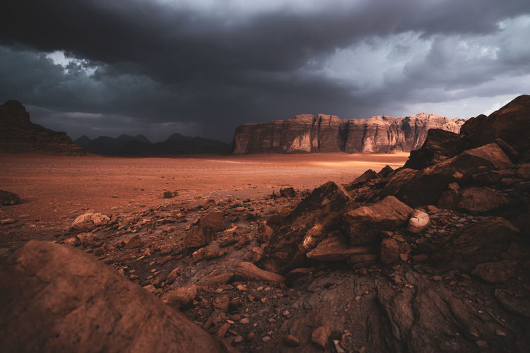 Cloud - Sky Rock - Object Sky Rock Solid Rock Formation Scenics - Nature Landscape Storm Cloud Overcast Non-urban Scene Nature Beauty In Nature Storm Geology No People Environment Travel Destinations Travel Climate