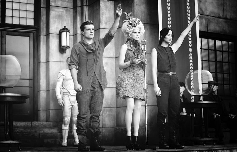 District 12 Katniss Everdeen Peeta Mellark EffieTrinket