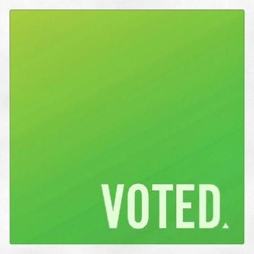 Voted  Wavotes Vote1greens Votegreens senantorscottludlam saveourscott