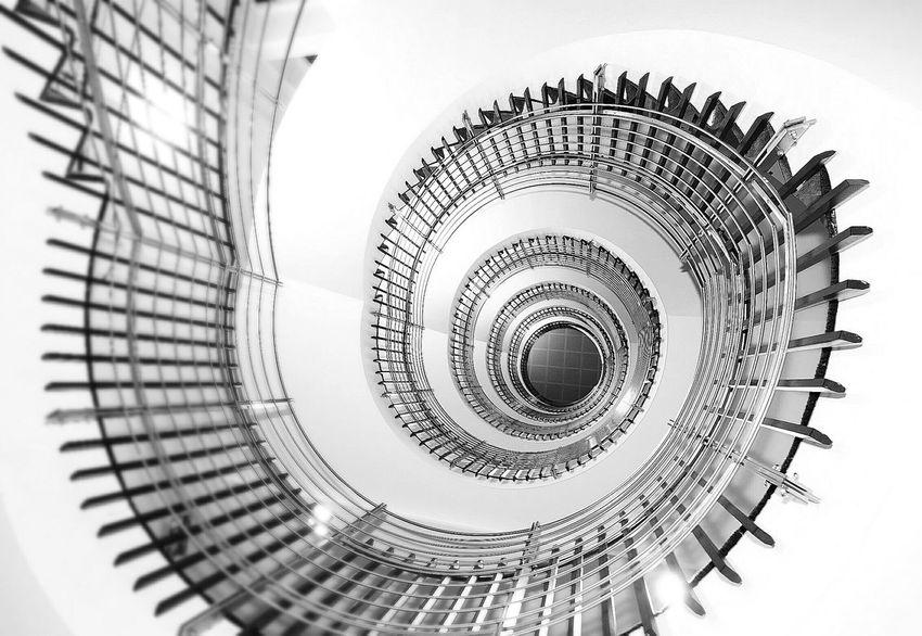 Stairway Stair Way Vector Circular Stairway Circular Building Iceland