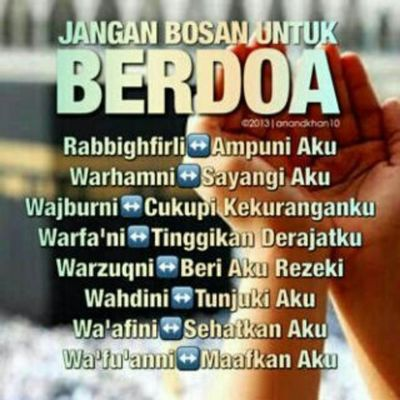Jangan bosan!!