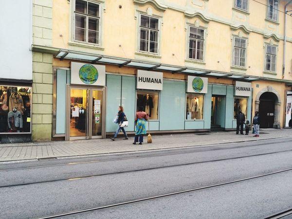 Graz Austria Urbanphotography Street Photography Vintage Shopping Humana