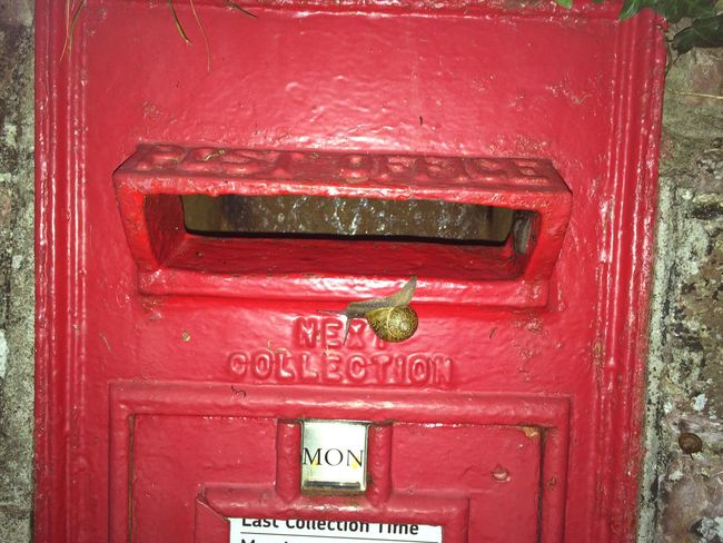 Snail Mail Postbox Letterbox