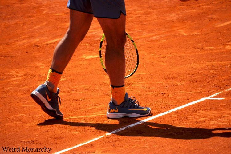 Competition Competitive Sport Court Healthy Lifestyle Human Body Part Human Leg Racket Rafael Nadal  Sport Tennis Tennis Racket Vitality