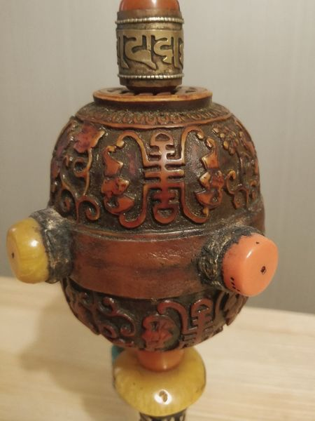 Prayer wheel EyeEm Selects Antique Art And Craft History Metal Precious Gem Ancient Statue