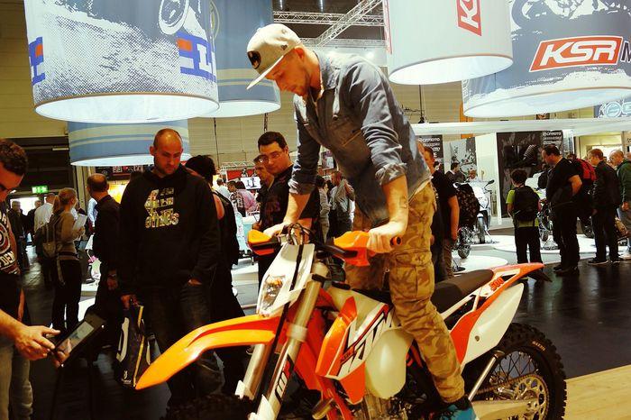 Motorcycle I ❤ Intermot 2014 Motocross Cap Ktm