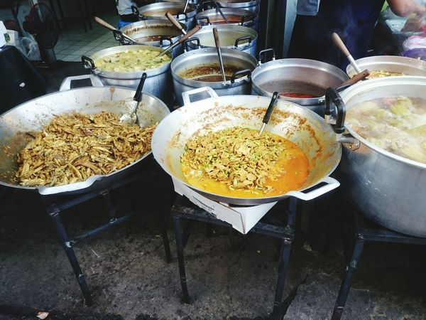 Food And Drink Food Freshness Preparation  Food And Drink Industry Ready-to-eat Cooked Thai Street Food